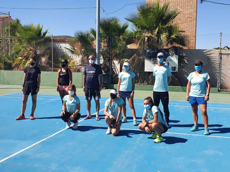 Club de tenis de la localidad. / EPDA
