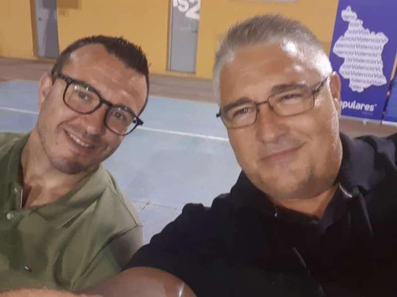 Vicent Mompó y Pedro Cuesta. EPDA