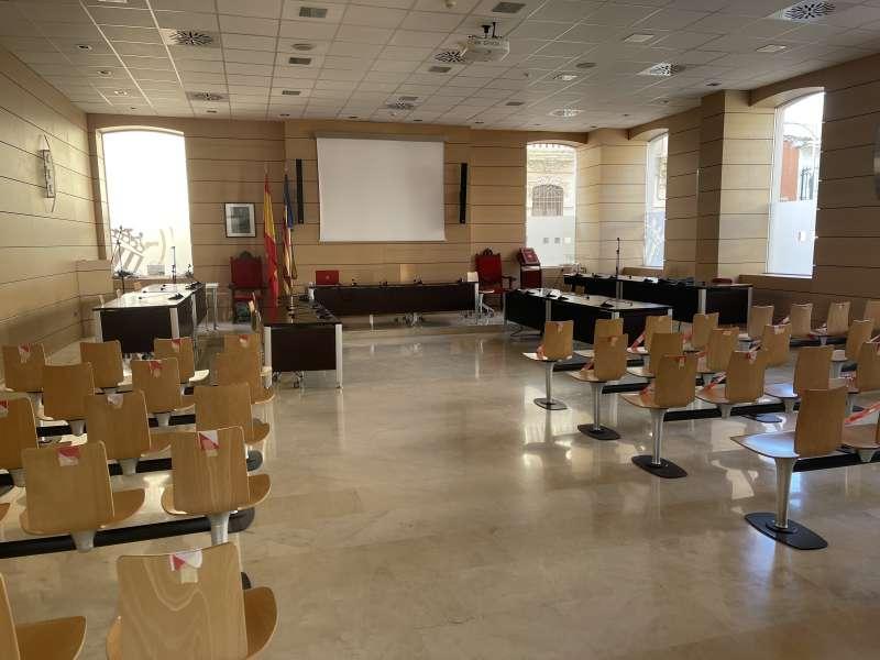 Salón de plenos de Alfafar. EPDA