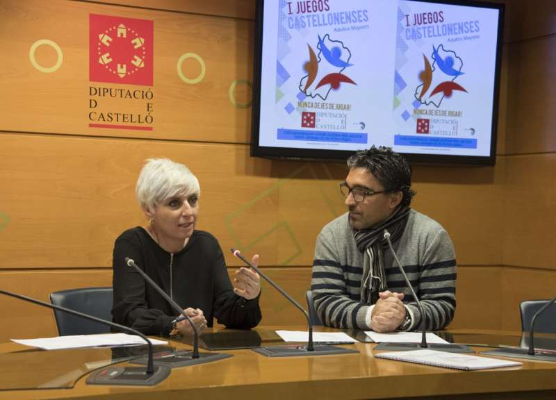Elena Vicente-Ruiz en la presentación de los juegos
