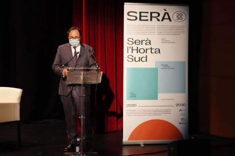 Soler en la presentación. EPDA