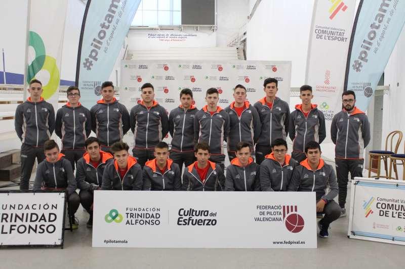 Jugadors juvenils de la Lliga