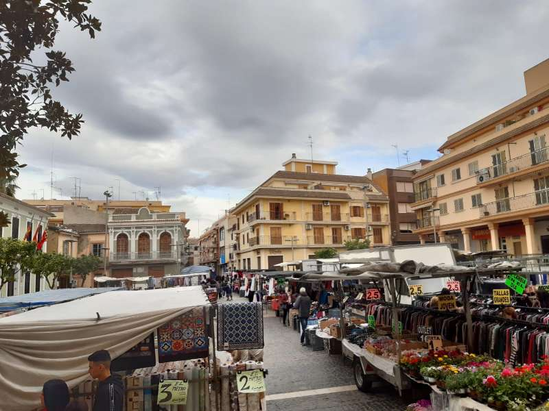 Mercado ambulante de Paterna. EPDA