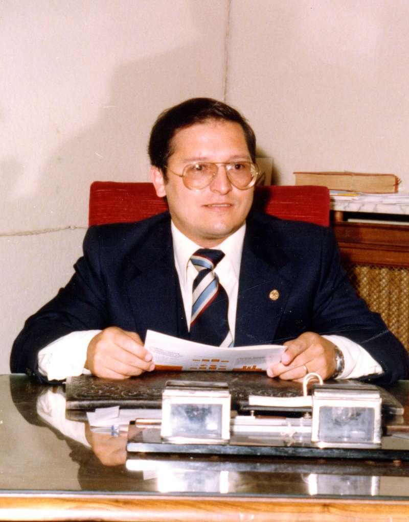 Manuel Sender, alcalde de Segorbe en el 23-F