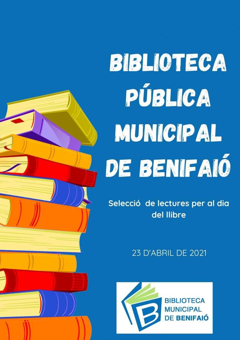 Cartel Día del libro./EPDA