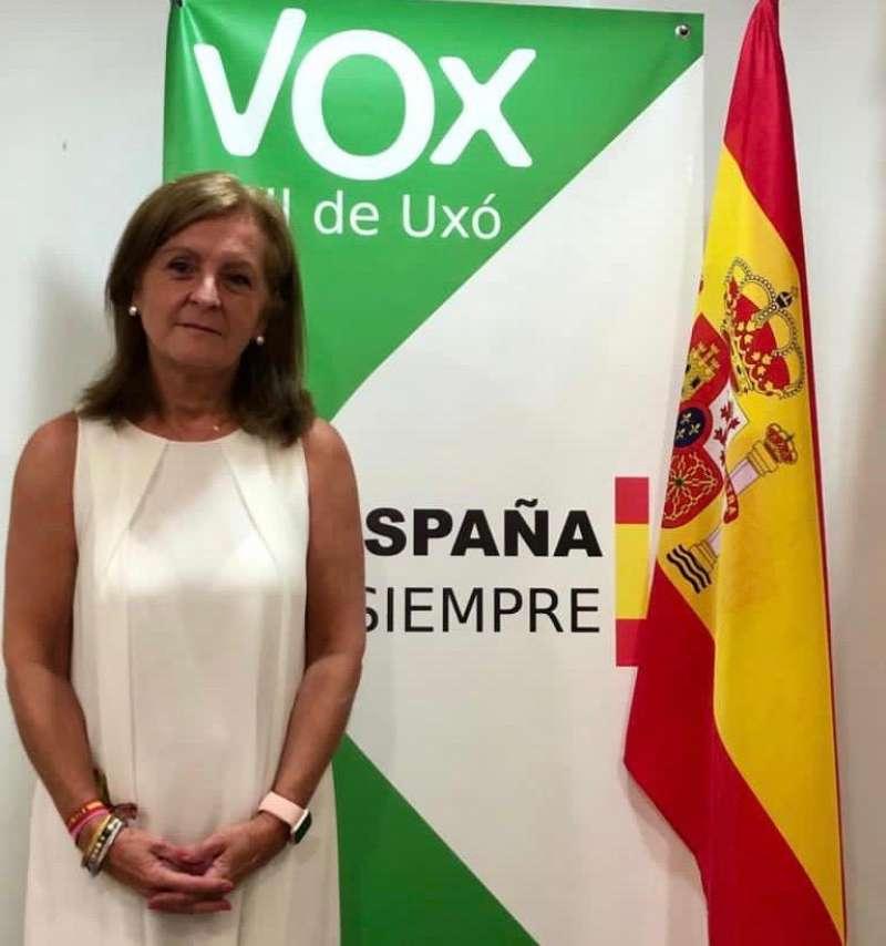 Marina Peirats, concejal de Vox
