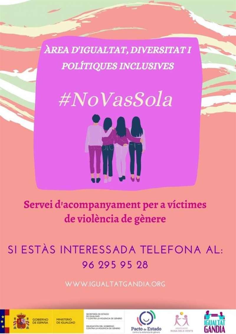 Una imagen del cartel de la iniciativa, facilitada por el Ayuntamiento de Gandia.