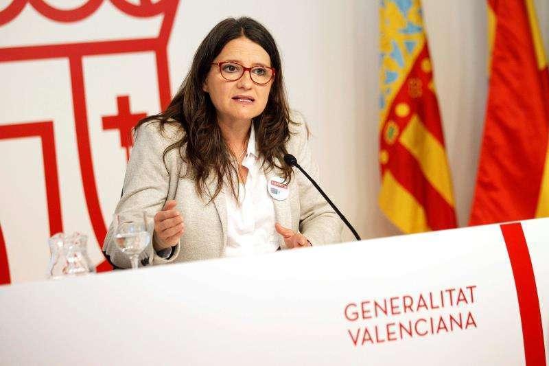 Imagen de archivo de la vicepresidenta y portavoz del Consell, Mónica Oltra.