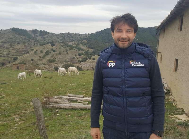 Jesús Lecha, portavoz del PP de Morella