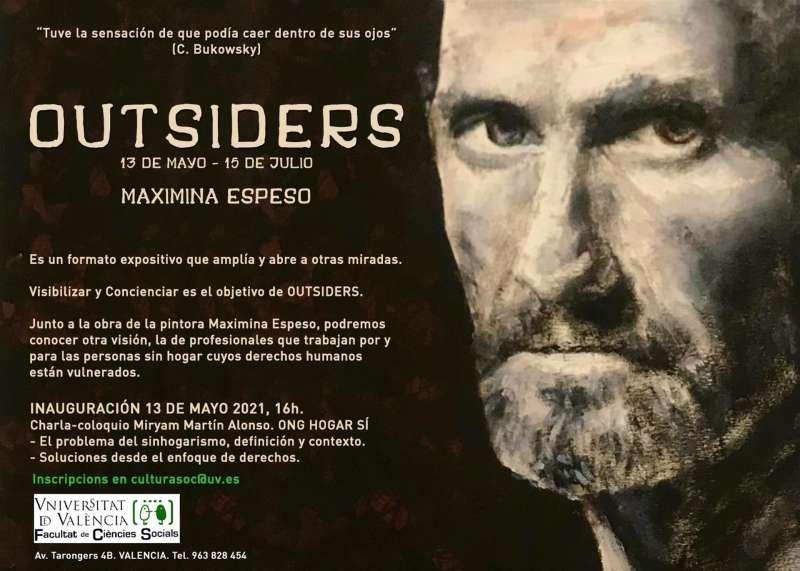 Imagen del cartel informativo de la muestra y la charla-coloquio cedido por la organización.