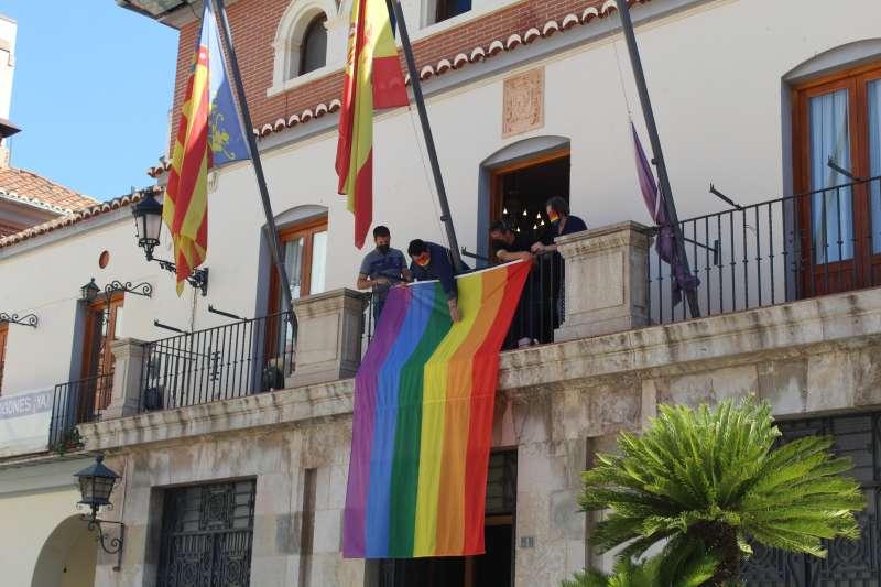 Bandera LGTBI+/EPDA