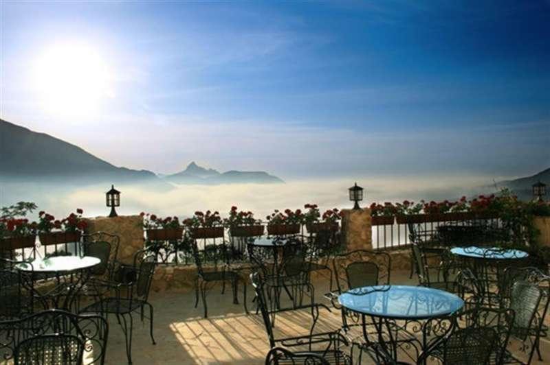 Imagen del hotel de Guadalest (Alicante) considerado el segundo más romántico del mundo.