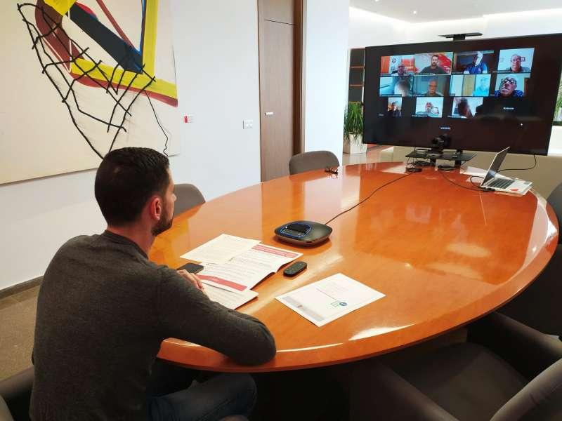 Reunión telemática