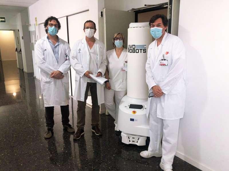 Robot incorporat a la planta de Llíria. EPDA.