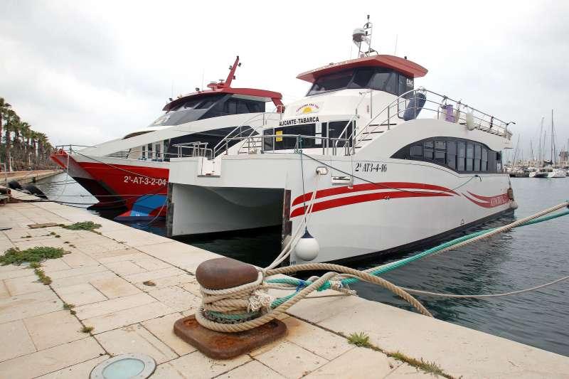 Emarcaciones en Tabarca. EPDA
