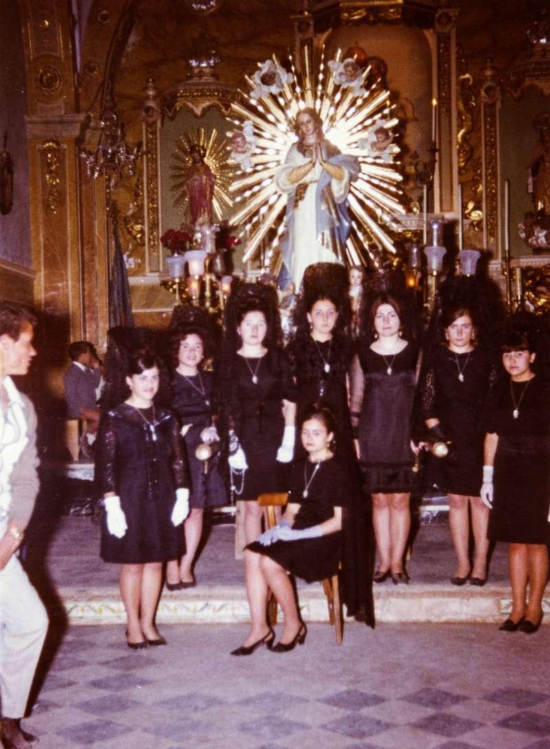Clavariesas de las Hijas de María. / JSM