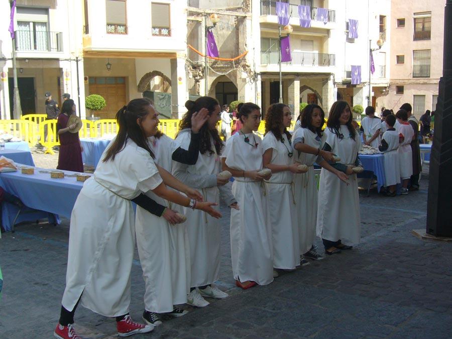 Una representación de los Ludi Saguntini de 2011. FOTO EPDA
