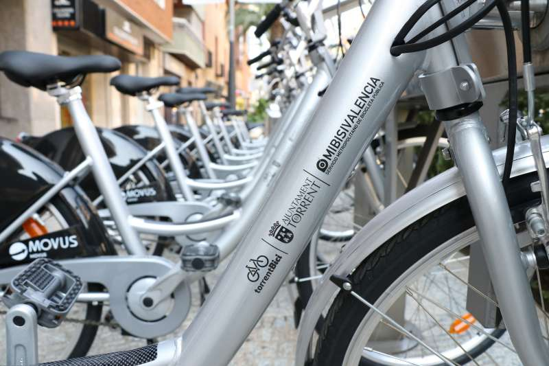Bicicletas de TorrentBici. EPDA