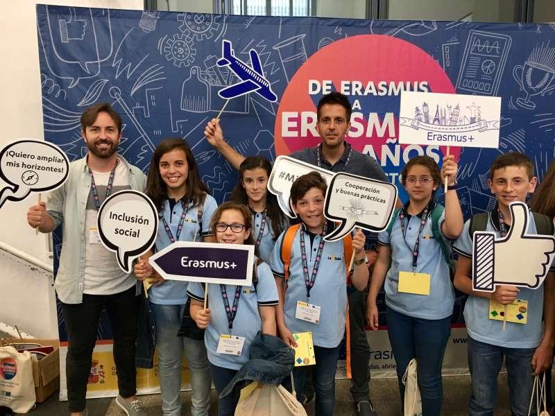 Participación del Colegio La Salle de Paterna en Erasmus +