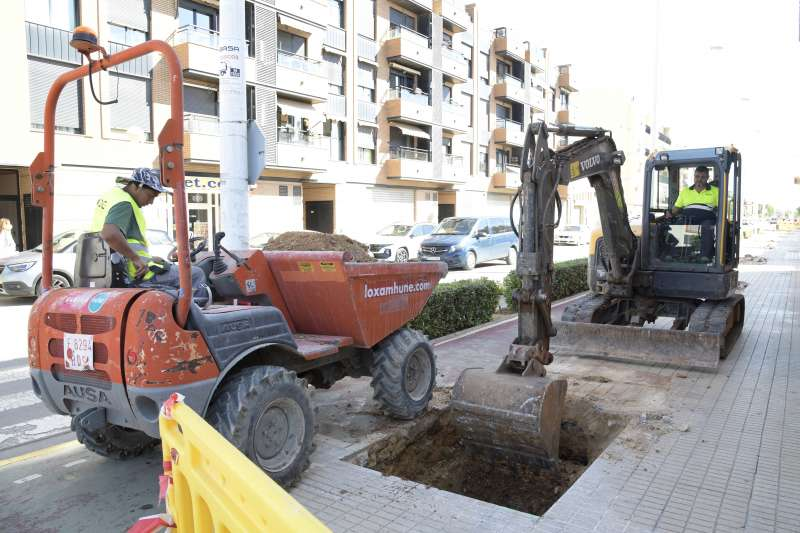 Urbanisme adequa el carrer José Capuz a Paiporta per a millorar la seguretat i ajustar-lo al Pla de l?Arbrat.