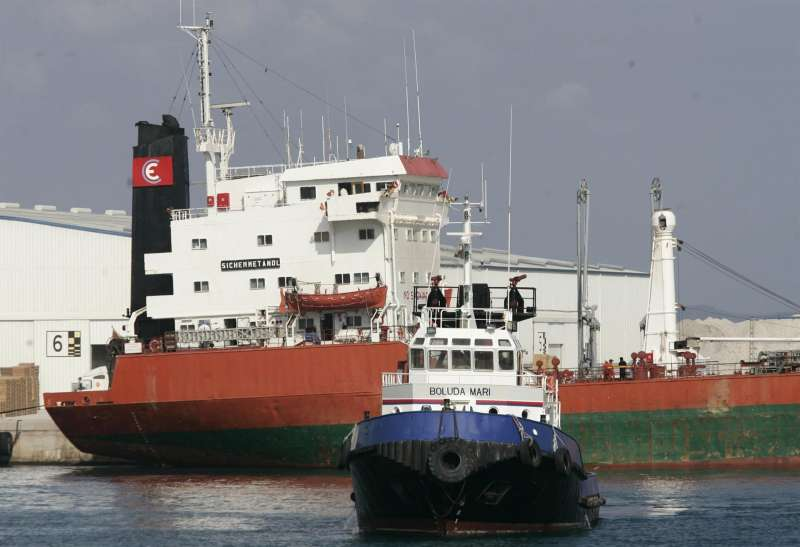 Imagen del puerto de Castellón.