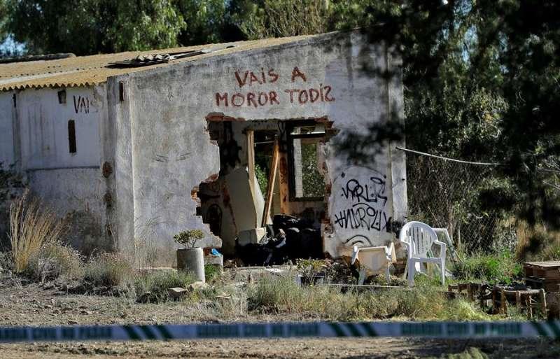 Vivienda de Godella (Valencia) en la que ocurrieron los hechos. EFE/Manuel Bruque/Archivo