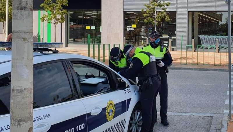 Actuación policial/EPDA