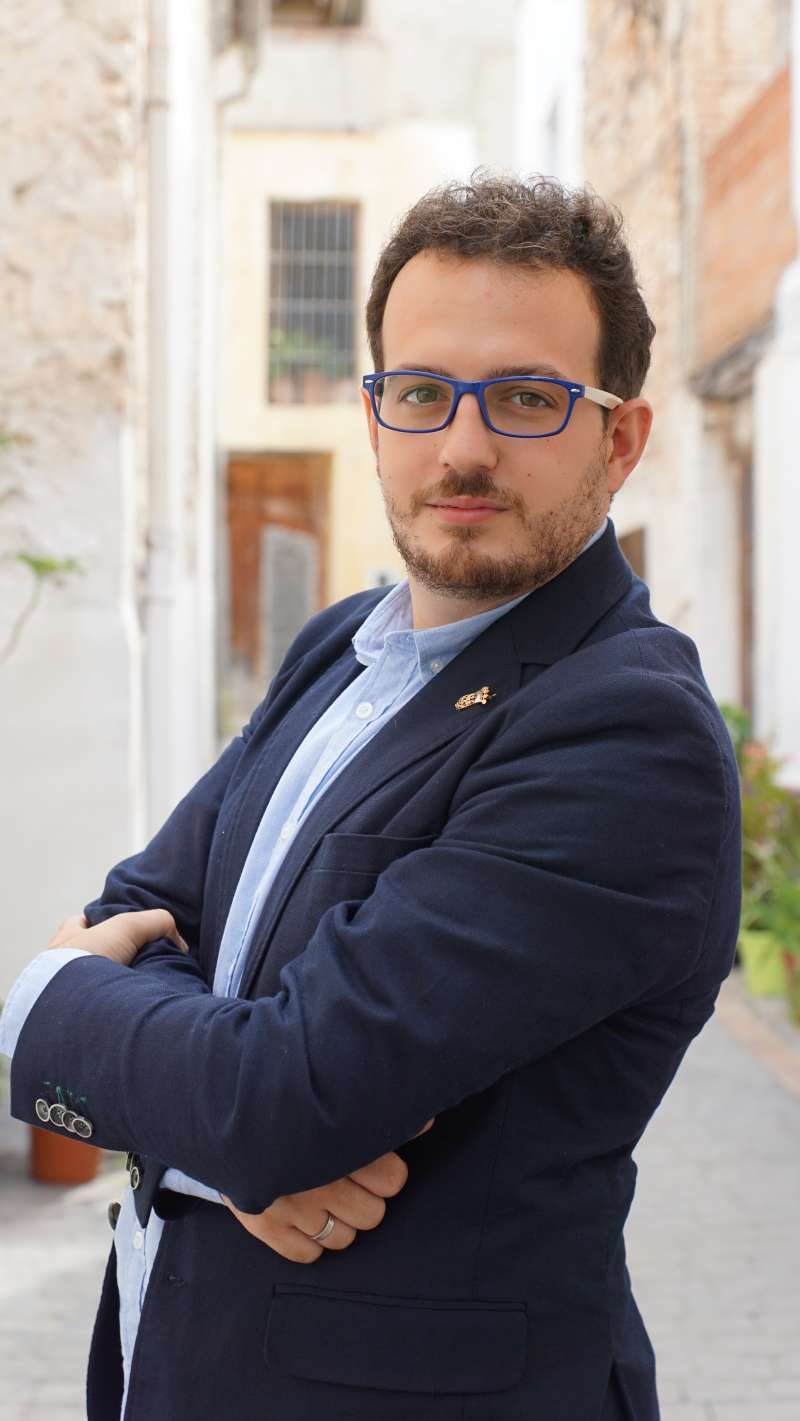 Hèctor Roig, alcalde de Catadau./EPDA