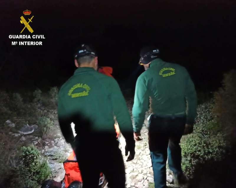 Guardia Civil en plena operación. EPDA