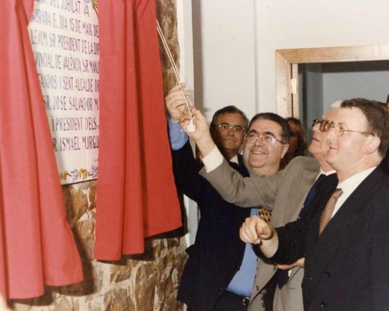 Inauguración del hogar en 1997. / JSM