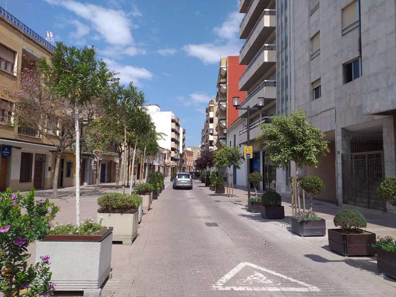 Un carrer d