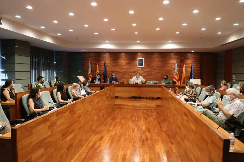 Reunión Colegios Torrent./ EPDA