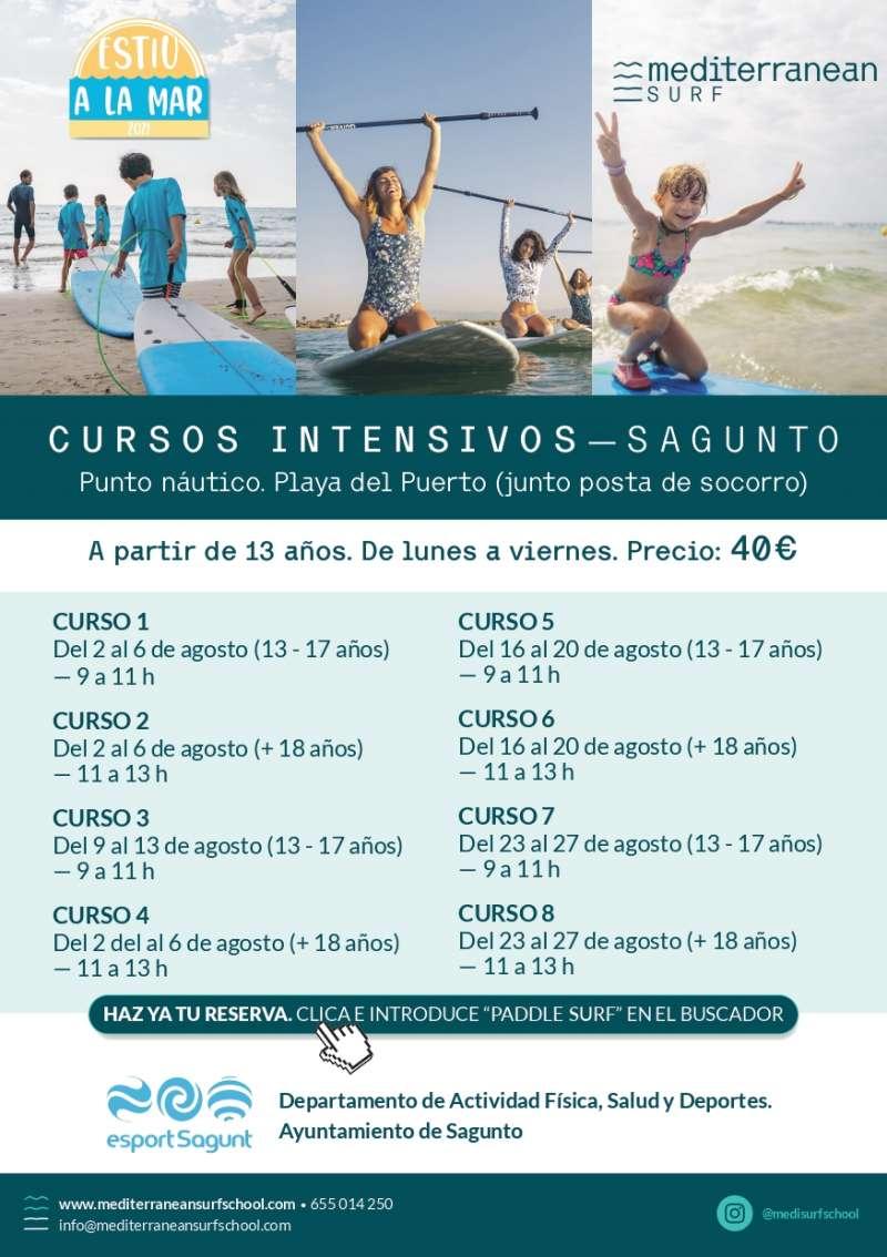 Información sobre los cursos. / EPDA