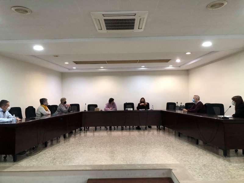 Reunió celebrada a Meliana. EPDA