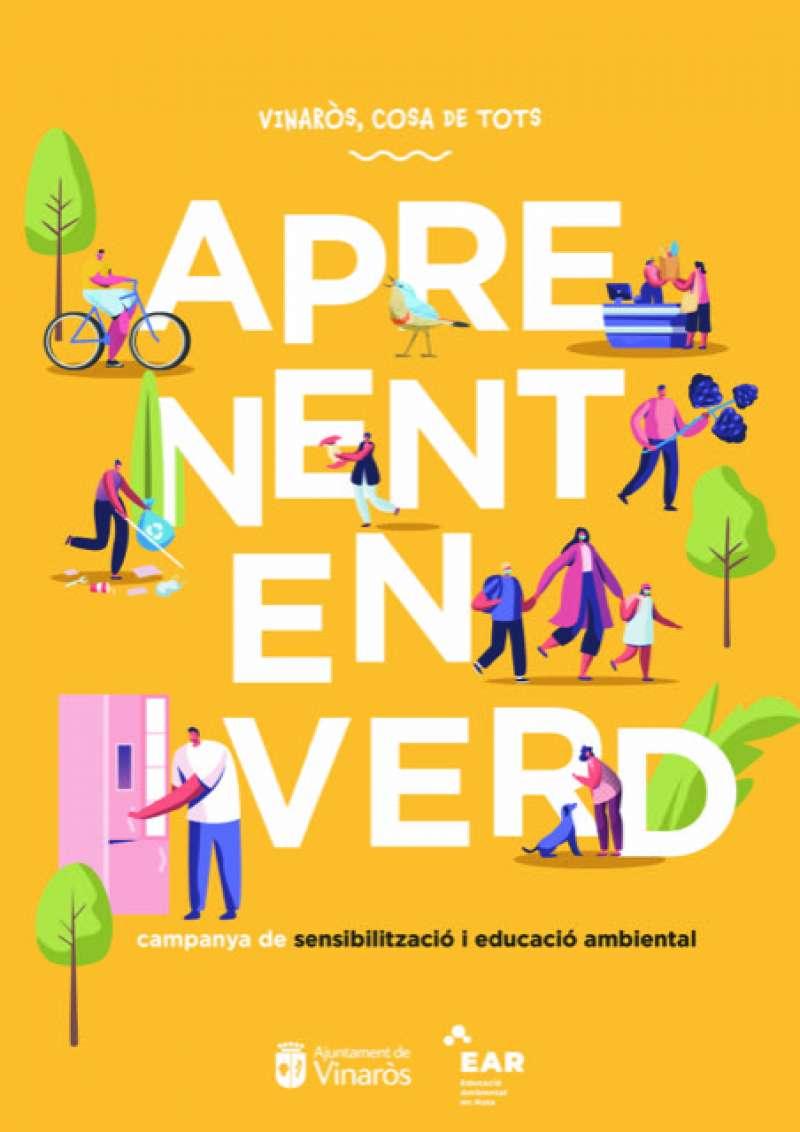 Cartel educació ambiental Vinaròs