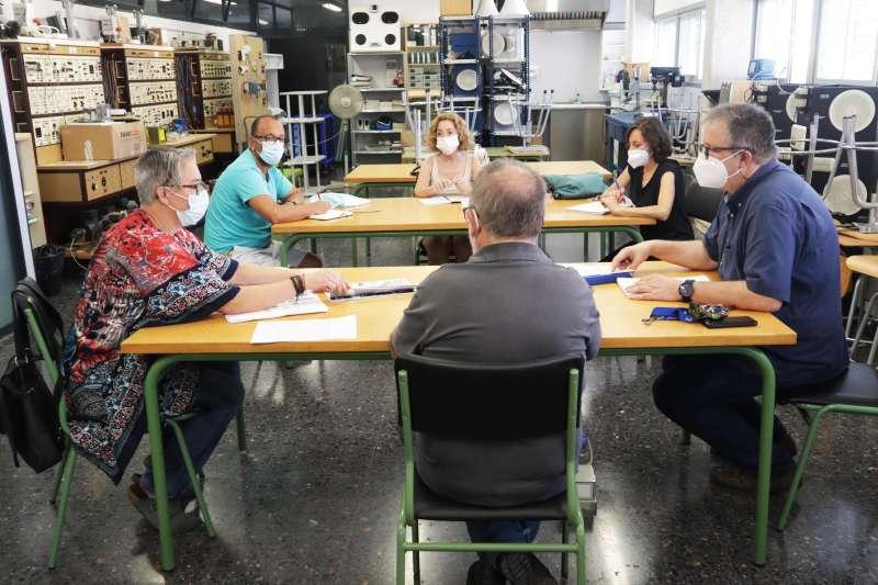Reunión para la planificación de actividades. EPDA.