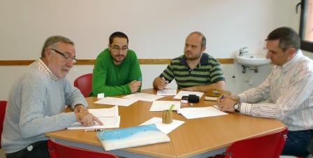 Reunión de coordinación entre la concejalía de Bienestar Social y los agentes sociales de Picassent. Foto: EPDA.