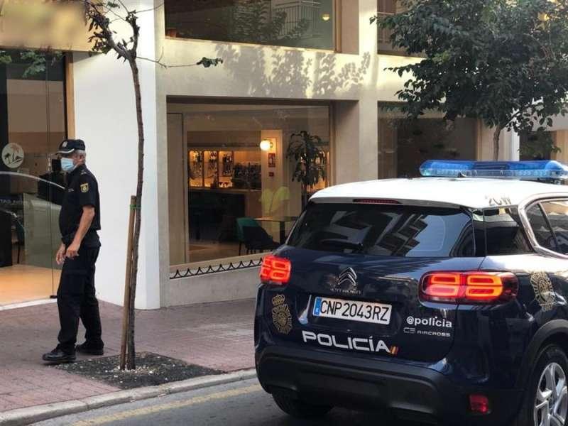 Imagen cedida por la Policía Nacional de Alicante. / EFE