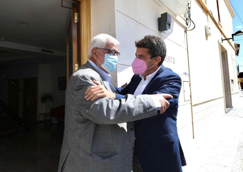 Juan Molina y Carlos Mazón/EPDA