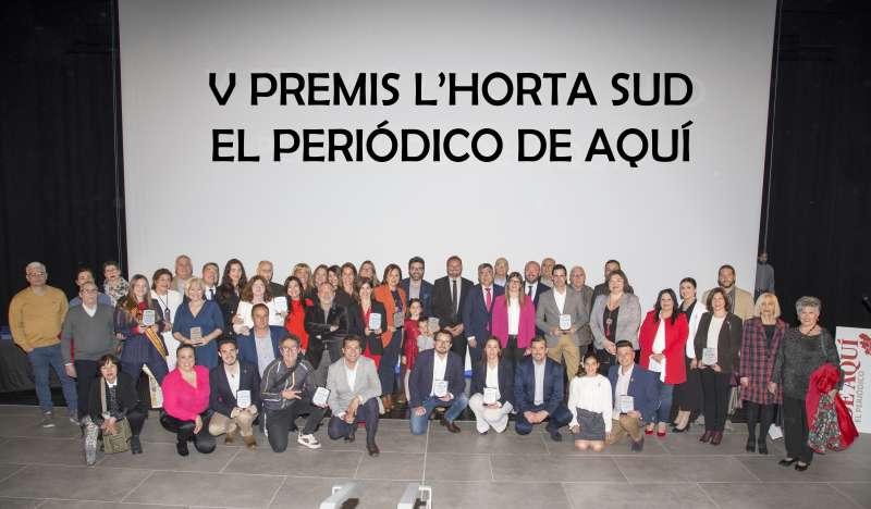 Premiados de los V Premios de EPDA de l