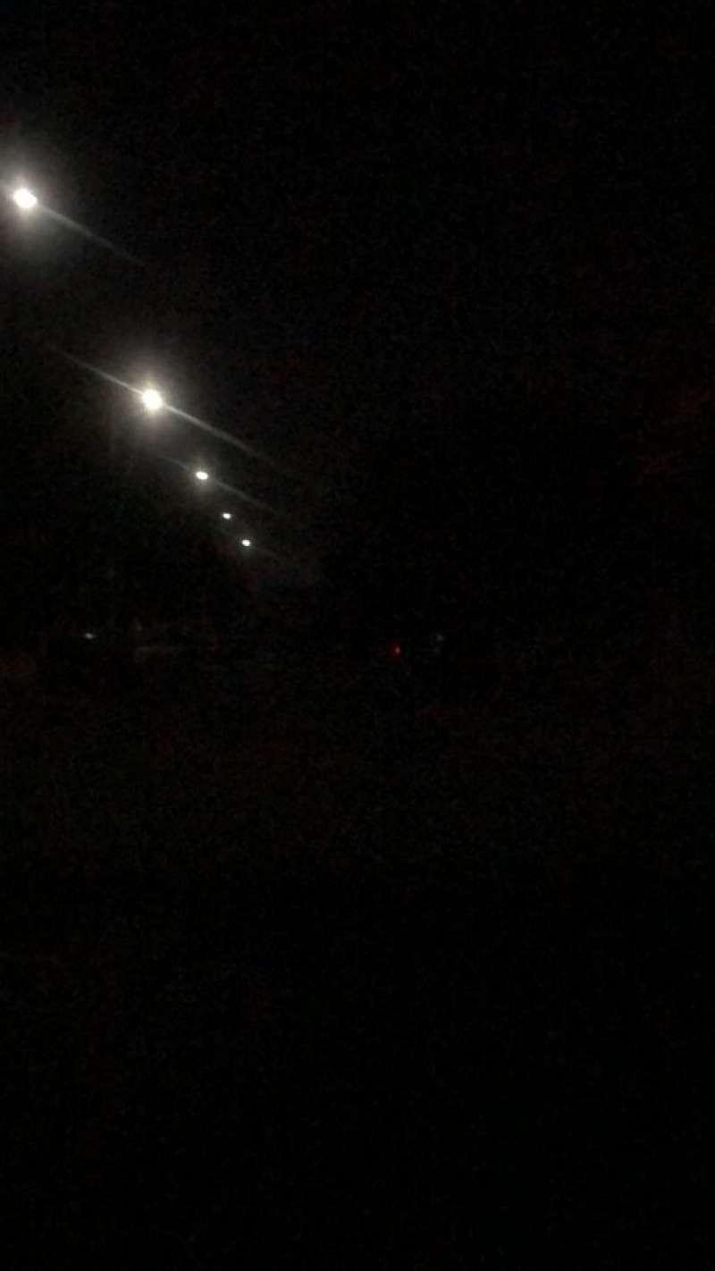 Falta de iluminación en Paiporta. EPDA
