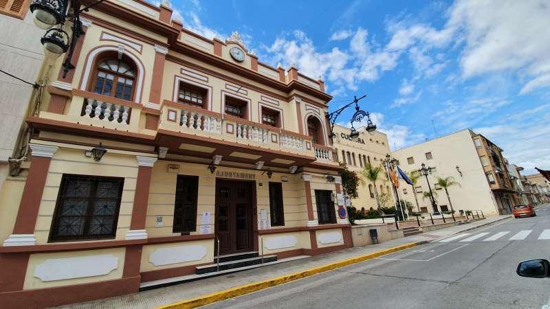 Ayuntamiento de La Pobla de Vallbona. EPDA