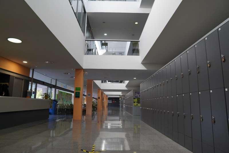 Interior del IES Peset Aleixandre de Paterna