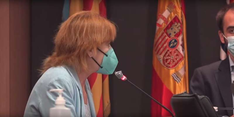 La regidora del PSPV?PSOE d