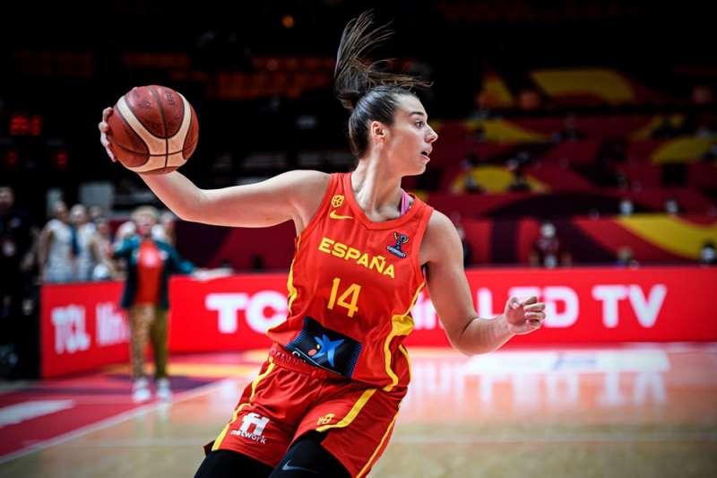 Raquel Carrera. /Foto FIBA