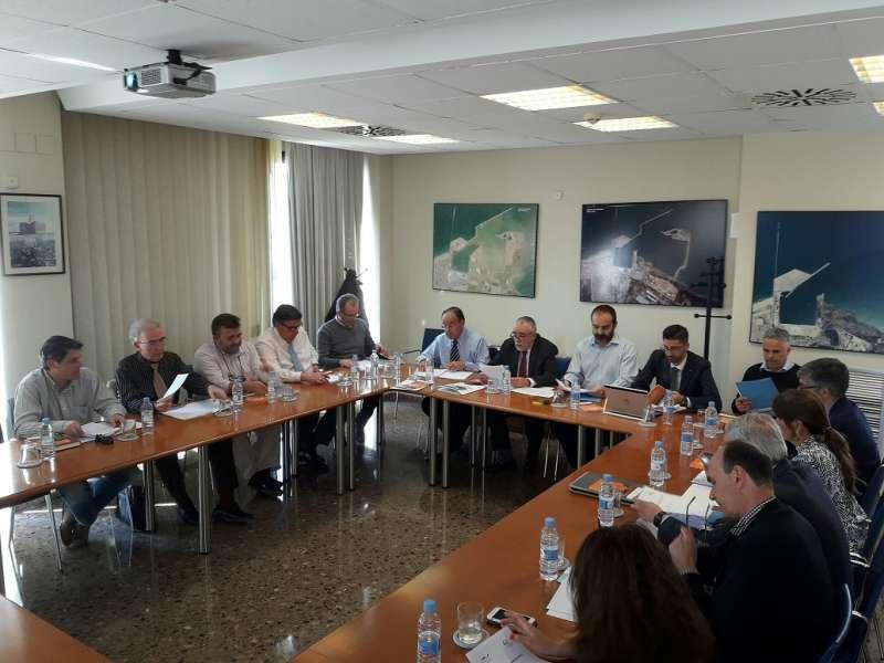 Un momento de la reunión. FOTO EPDA