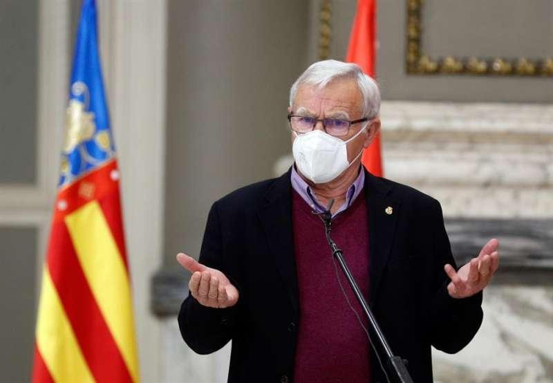 El alcalde de Valencia, Joan Ribó.EFE/ Kai Försterling/Archivo