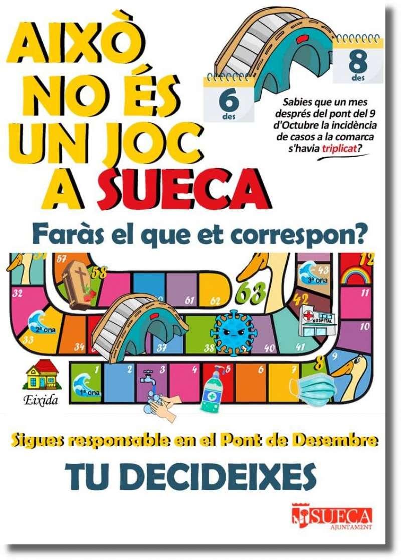 Cartel campanya Sueca./EPDA