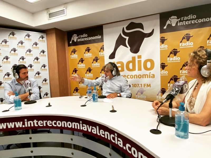 PP Torrent en una tertulia de radio./ EPDA