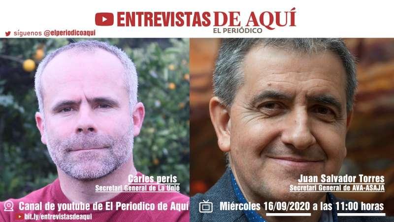 Analizamos la situación de la agricultura valenciana el miércoles a las 11 h.
